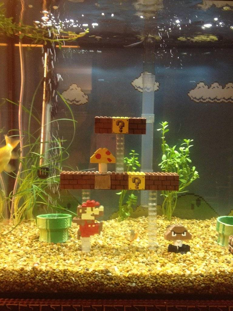 D co aquarium par theme - Aquarium mural deco ...