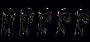 Une nouvelle version animatronic du buste Terminator T-800