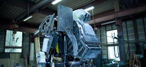 Vaudeville : Un énorme robot Mecha de 4m de haut