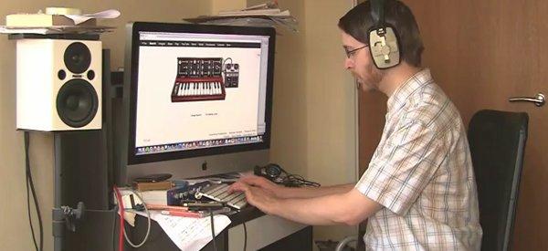 Vidéo : Aerodynamic de Daft Punk interprété avec le Doodle Moog de Google