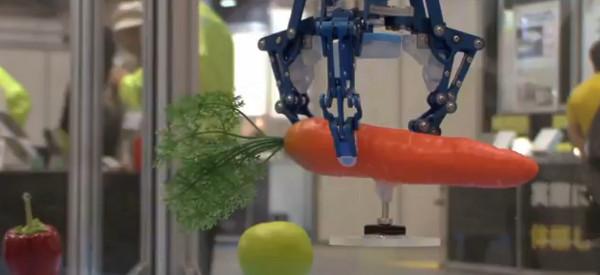 D-Hand : Un main robotique qui utilise q'un seul organe de contrôle pour agripper les objets