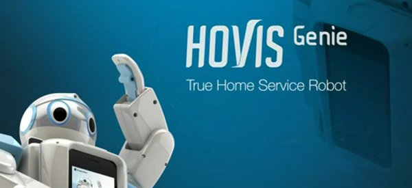 HOVIS Genie : Un petit robot fonctionnant avec une base Android