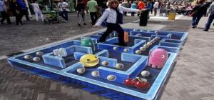 Street Art : Un incroyable oeuvre de rue inspirée de Pacman