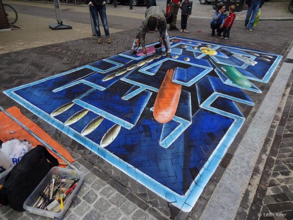 street art un incroyable oeuvre de rue inspiree de pacman 03 600x450 Street Art : Un incroyable oeuvre de rue inspirée de Pacman