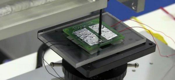 Un scanner qui permet de rendre l'électricité visible
