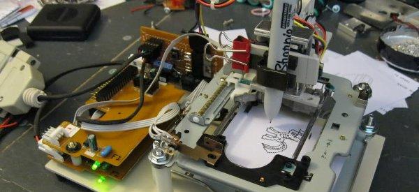 DIY : Fabriquer une imprimante matricielle avec des lecteurs de disquettes