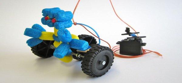 Dynamo Rover : Un petit robot qui fonctionne sans pile