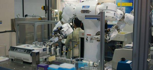 Mahoro, un robot androïde de laboratoire vraiment performant