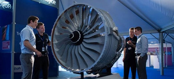 Un réacteur Rolls-Royce reproduit avec des LEGO