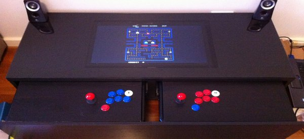 DIY : transformer une table basse IKEA en borne d'Arcade
