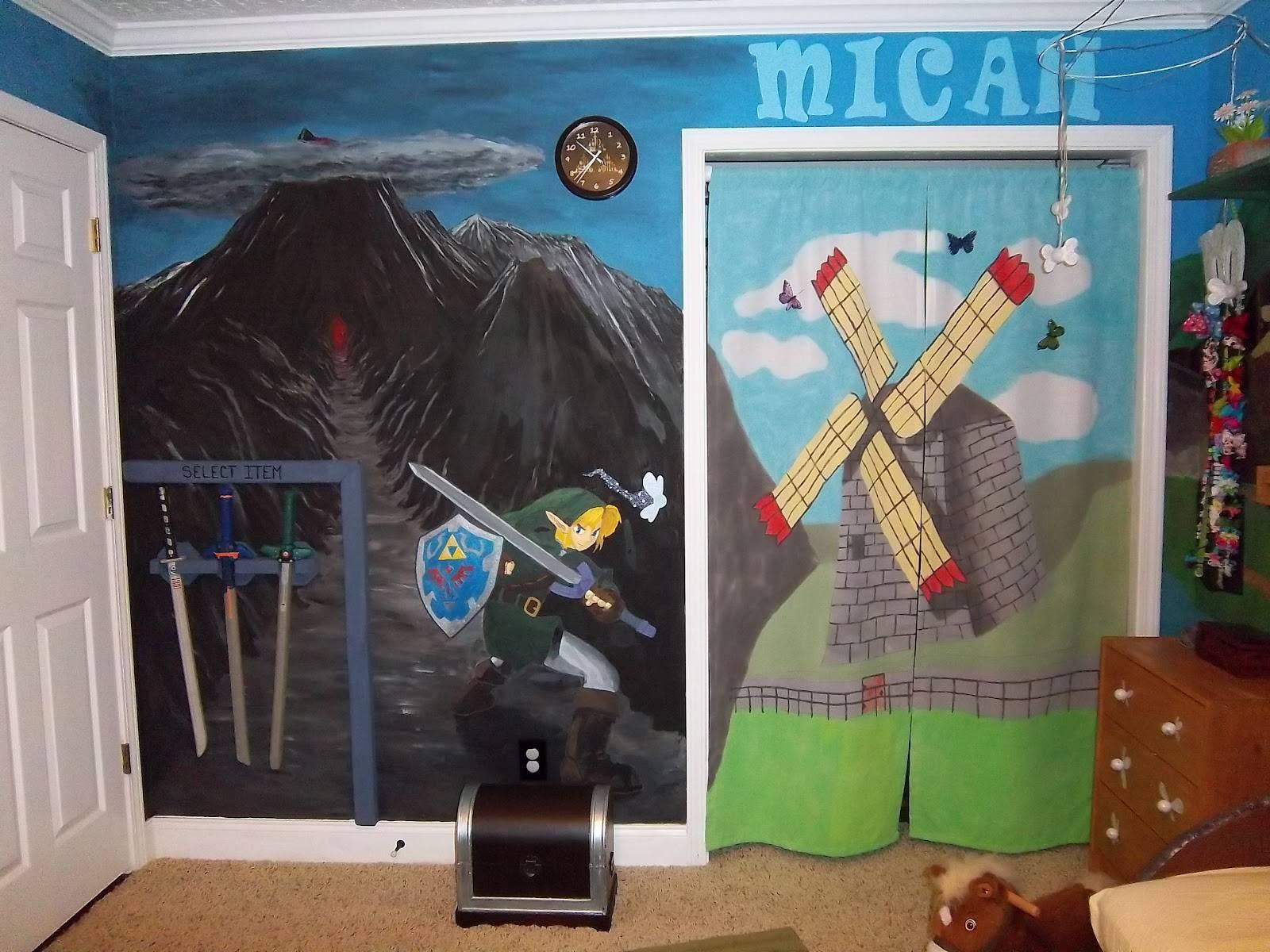 Une nouvelle chambre d enfant décorée sur le th¨me de Zelda Semageek