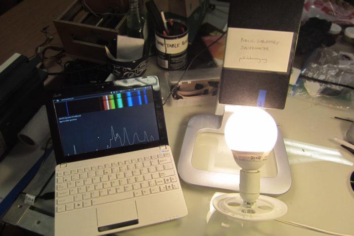 DIY : Comment fabriquer un spectromètre pour moins de 35€