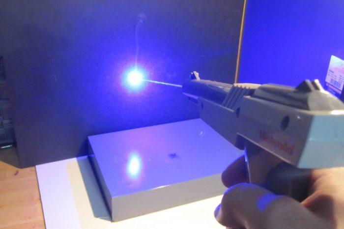DIY : Transformation d'un Zapper Nintendo en pistolet laser