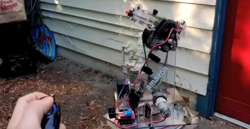 DIY : Une tourelle de défense sous Arduino pilotée par un Wii Nunchuck