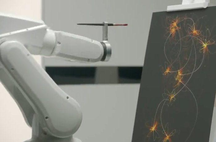 Ibis Sleep Art : Un robot qui transforme votre sommeil en oeuvre d'art.