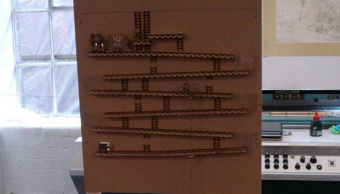 IRL : Une version de Donkey Kong mécanique