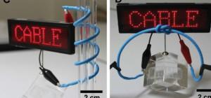 LG intègre une batterie Lithium-ion dans un câble flexible