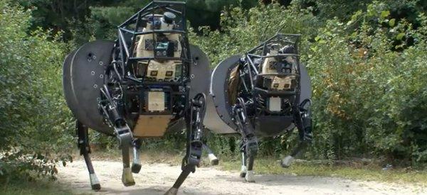 LS3 : Une sortie en plain air pour le dernier robot de Boston Dynamics