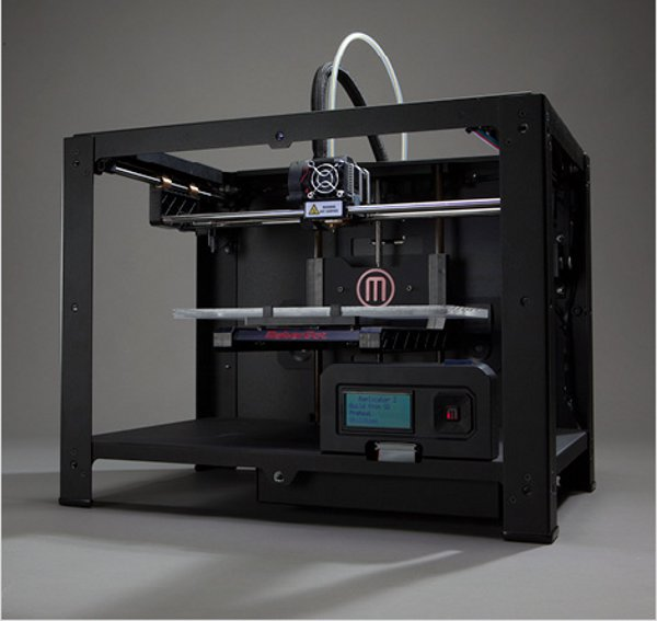makerbot pr sente sa nouvelle imprimante 3d replicator 2. Black Bedroom Furniture Sets. Home Design Ideas