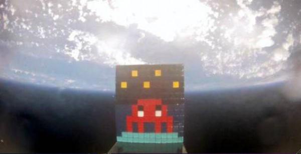 Space Invader : Un envahisseur a été envoyé dans l'espace