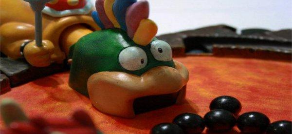 """Un jeu """"Hippos Gloutons"""" customisé à la sauce Mario Bros"""