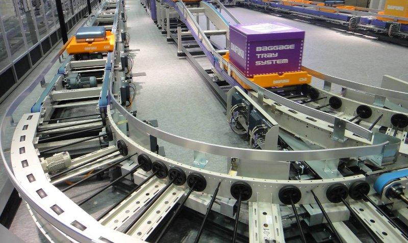 Un système de tri de bagage ultra-rapide pour les aéroports