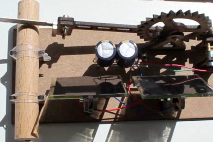 Une machine solaire pour couper du bois à son rythme