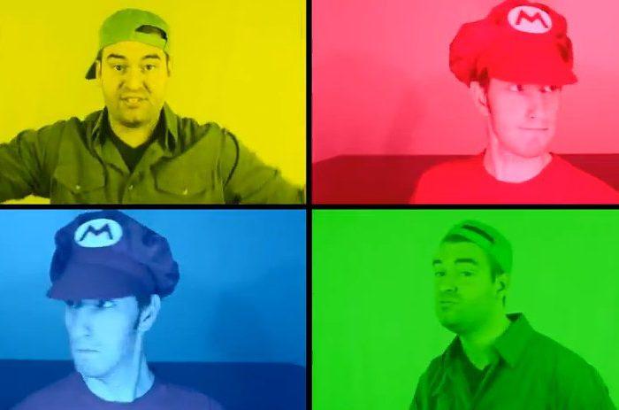 Vidéo : Un medley du thème de Super Mario Bros A Cappella