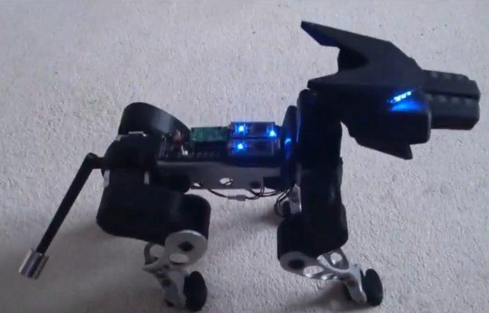 E.R.I.C. : Un robot chien interactif vraiment impressionnant