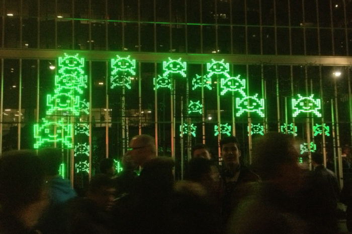 Green Invaders : Quand les Space Invaders débarquent à Toronto