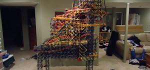 K'nex Pinball Machine : Un incroyable flipper réalisé en K'nex