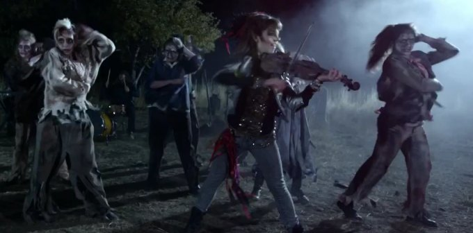 Moon Trance : Le clip vidéo de Lindsey Stirling pour ...