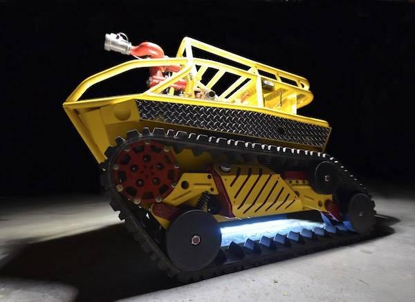 Thermite : Découverte du premier robot pompier