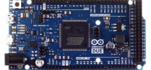 Commercialisation officielle de la carte Arduino DUE