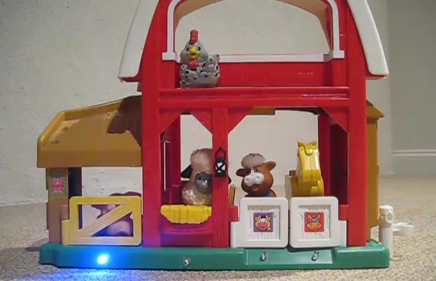 DIY : Transformer un jeu de la ferme pour enfant en Simon