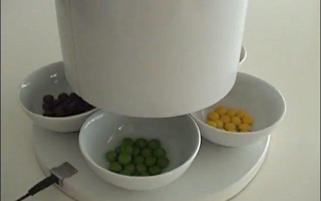 DIY : La machine à trier les Skittles