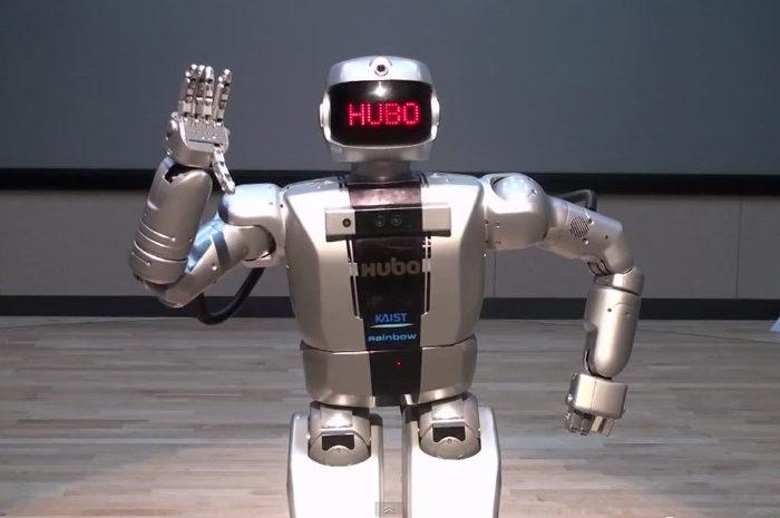 Le Robot HUBO se prépare pour le DARPA Robotics Challenge