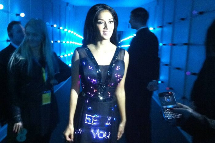 Twitter Dress : la robe qui twitte de Cute Circuit