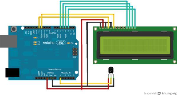 montage minute surveiller la temperature de son frigo avec un arduino 04 600x323 Montage Minute : Surveiller la température de son frigo avec un Arduino