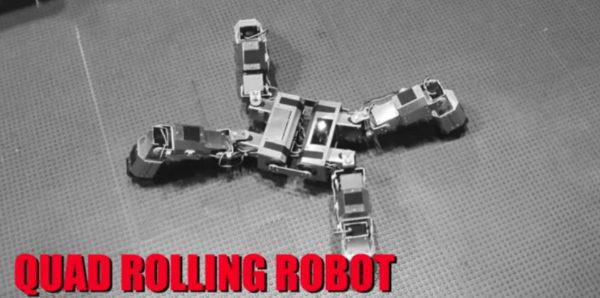 quad rolling robot un robot vraiment modulaire 600x298 Quad Rolling Robot : Un robot vraiment modulaire