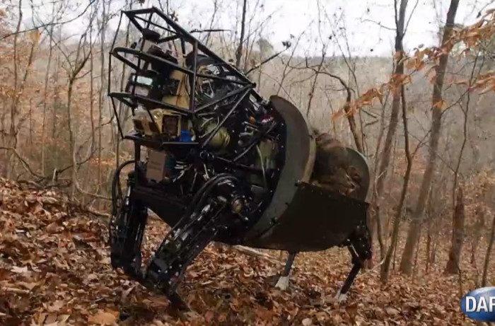 Vidéo : Une sortie en forêt pour le LS3 de Boston Dynamics