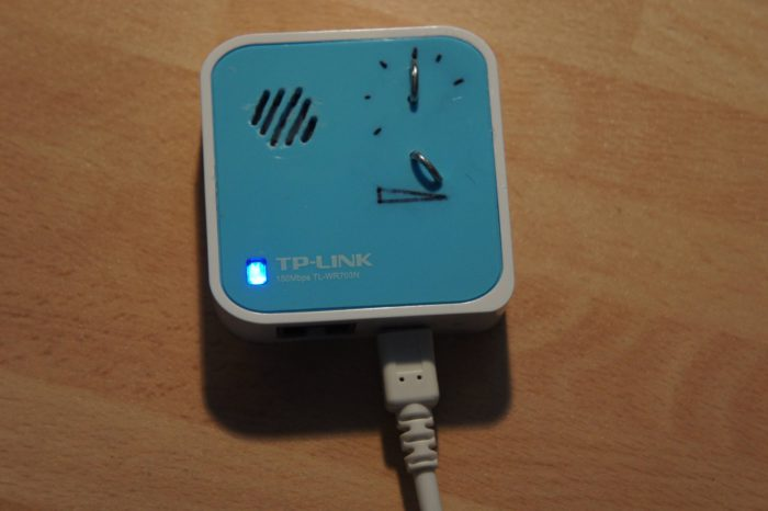 Transformer un mini router TP-Link 703N en une web radio WIFI