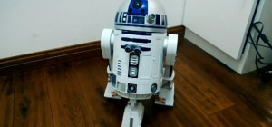 Un robot R2D2 fonctionnant avec un Raspberry PI