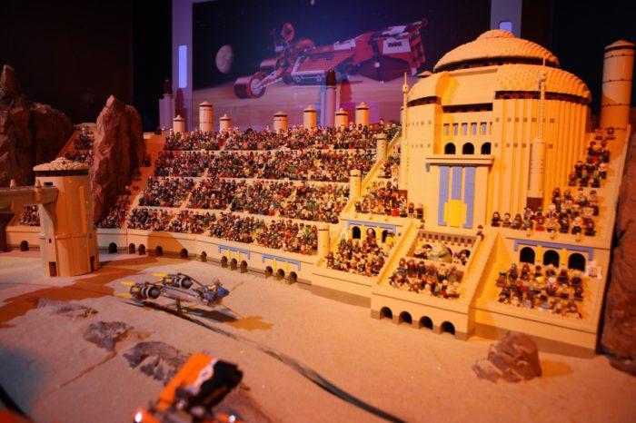 La Menace Fantôme de Star Wars recréée avec 250000 pièces de LEGO