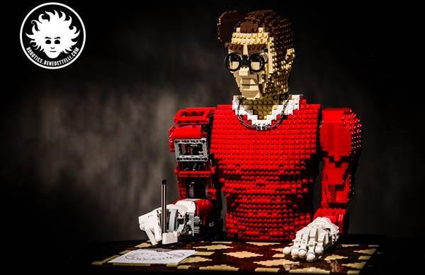 Legonardo : Le robot dessinateur construit à base de LEGO