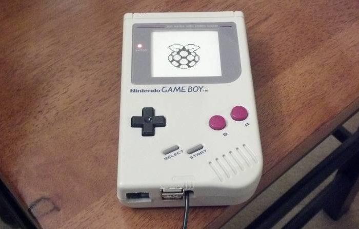 Un boitier original pour Raspberry PI avec une Gameboy
