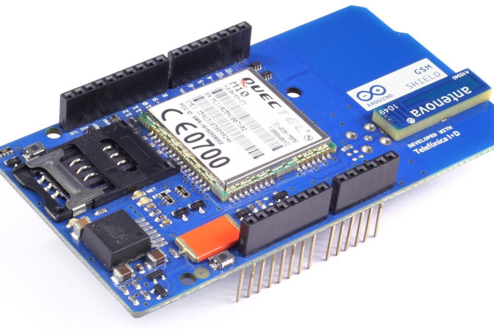 arduino shield gsm