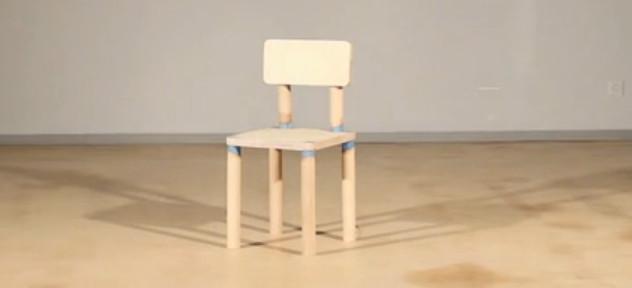 DRM Chair : La chaise qui s'auto-détruit après huit utilisations