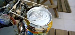 RoboArna : Comment voler des canettes dans un distributeur automatique avec un robot