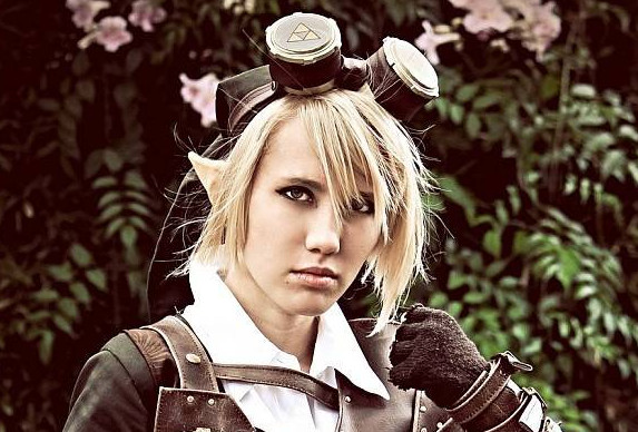 Cosplay : Un magnifique costume de Link en version Steampunk